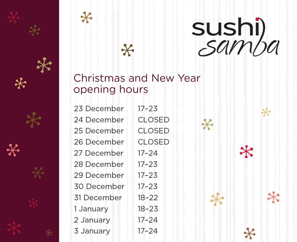 SushiSamba_opnunartimi_j&A